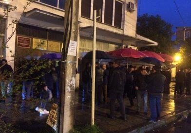 У здания ЦИК Абхазии проходит митинг оппозиций