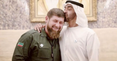 Арабская «прачечная: – о друзьях Кадырова