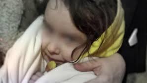 В Абхазии нашли девочку — маугли из России